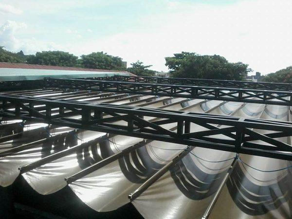 Báo giá mái bạt xếp và giá mái bạt kéo di động ngoài trời