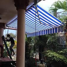 báo giá mái hiên di động, mái bạt che nắng mưa tự cuốn tại tp yên bái. giá lắp đặt trọn gói mái che di động tại yên bái