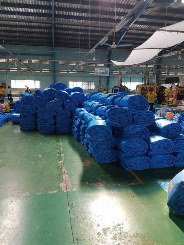 Chuyên cung cấp nhận in may ép vải bạt mái hiên mái xếp theo yêu cầu, gia công thay bạt mái che tại nam định