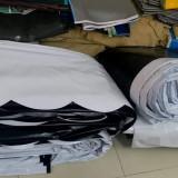 Chuyên cung cấp nhận in may ép vải bạt mái hiên mái xếp theo yêu cầu, gia công thay bạt mái che tại điện biên phủ