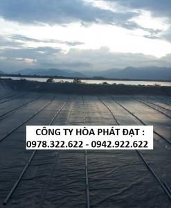 giá bán vải bạt chống thấm nước, màng chống thấm HDPE độ bền trên 10 năm