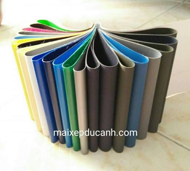 Chuyên cung cấp nhận in may ép vải bạt mái hiên mái xếp theo yêu cầu, gia công thay bạt mái che tại tp vinh nghệ an