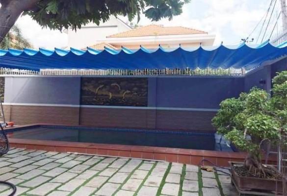 báo giá thiết kế lắp đặt mái che di động sân trường học, mái xếp bạt kéo lượn sóng sân trường
