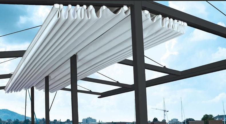 Chuyên cung cấp nhận in may ép vải bạt mái hiên mái xếp theo yêu cầu, gia công thay bạt mái che tại rạch giá kiên giang