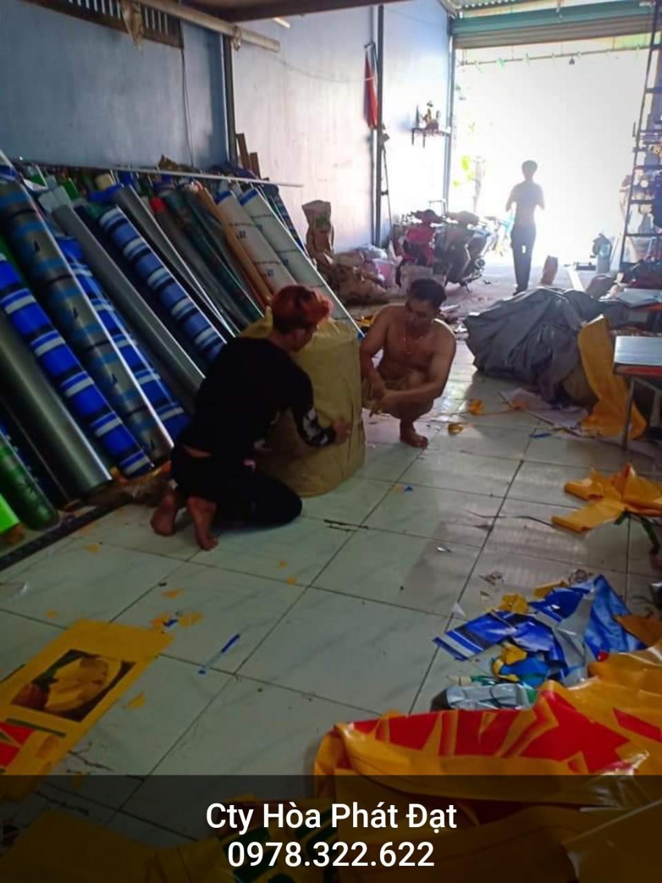 Chuyên cung cấp nhận in may ép vải bạt mái hiên mái xếp theo yêu cầu, gia công thay bạt mái che tại tp quãng ngãi