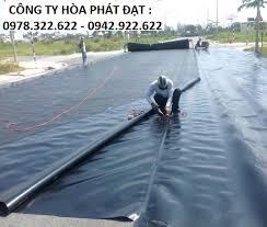 bảng giá bán vải bạt HDPE lót ao hồ nuôi tôm cá giá bao nhiêu tiền 1m