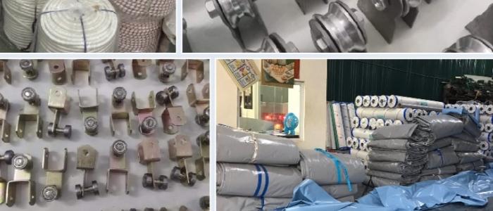 Chuyên cung cấp nhận in may ép vải bạt mái hiên mái xếp theo yêu cầu, gia công thay bạt mái che đồng nai