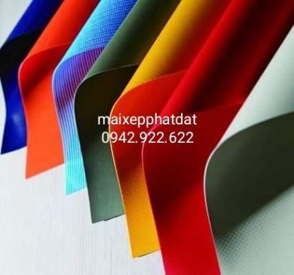 Chuyên cung cấp nhận in may ép vải bạt mái hiên mái xếp theo yêu cầu, gia công thay bạt mái che bình dương