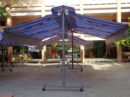 báo giá mái hiên di động, mái bạt che nắng mưa tự cuốn tại tp biên hòa đồng nai . giá lắp đặt trọn gói mái che di động tại tp biên hòa