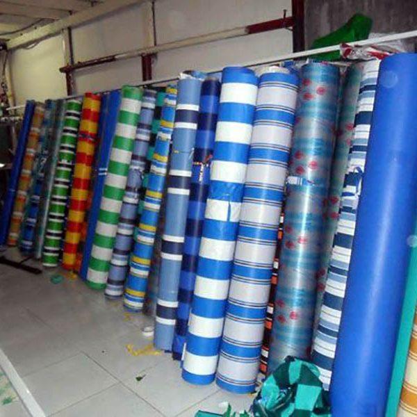 Chuyên cung cấp nhận in may ép vải bạt mái hiên mái xếp theo yêu cầu, gia công thay bạt mái che tại  đồng xoài bình phước