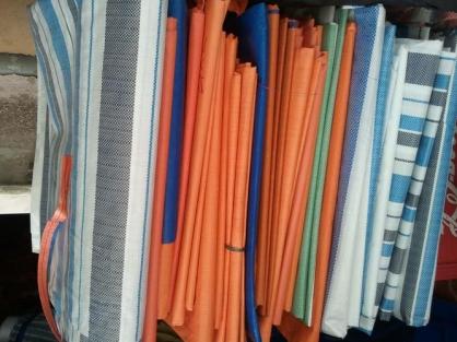 Báo giá sản xuất cung cấp bạt xanh cam (PE) giá rẻ, bạt nhựa hòa phát đạt