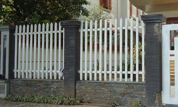 Thiết kế lắp đặt hàng rào sắt sơn tĩnh điện chống gỉ sét mẫu đẹp giá rẻ tại hà tĩnh
