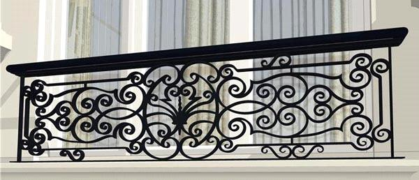 Thiết kế lắp đặt lan can sắt sơn tĩnh điện chống gỉ mẫu đẹp tại hà tĩnh