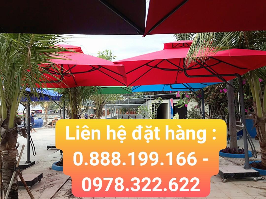 Bảng giá bán dù che nắng tại tp hcm bán dù lệch tâm giá rẻ tại tp hcm.